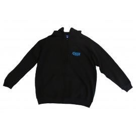 Ashcourt Black Full Zip Hoodie